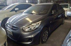 Grey Hyundai Accent 2018 for sale in Makati