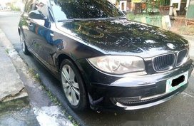 Sell Black 2009 Bmw 118I at 44000 km