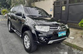 Black Mitsubishi Montero Sport 2014 for sale in Parañaque