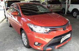 Orange Toyota Vios 2018 Automatic Gasoline for sale