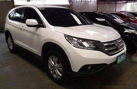 Selling White Honda Cr-V 2012 Automatic Gasoline at 59870 km