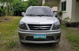 Silver Mitsubishi Adventure 2010 at 100000 km for sale