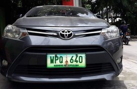 Grey Toyota Vios 2014 Automatic Gasoline for sale