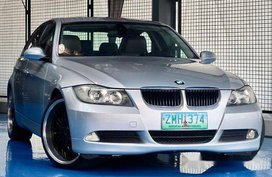 Sell Silver 2008 Bmw 320I at 53000 km