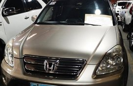 Silver Honda Cr-V 2006 Automatic Gasoline for sale