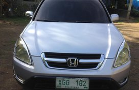 Sell Silver 2002 Honda Cr-V Automatic Gasoline at 112000 km