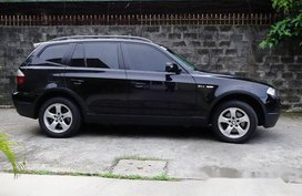 Selling Black Bmw X3 2010 Automatic Diesel at 51500 km