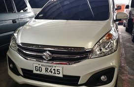 White Suzuki Ertiga 2018 for sale in Manila