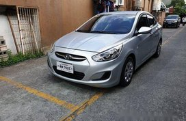 Silver Hyundai Accent 2017 at 47000 km for sale