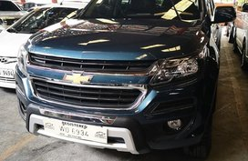 Blue Chevrolet Trailblazer 2017 Automatic Diesel for sale