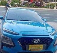 Selling Blue Hyundai KONA 2019 in Quezon City