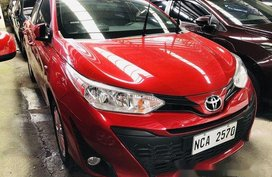 Sell Red 2018 Toyota Yaris at 9600 km