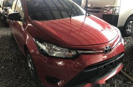 Sell Red 2017 Toyota Vios Manual Gasoline at 6700 km