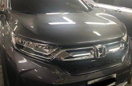Grey Honda Cr-V 2018 for sale in Quezon City