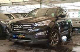 Black Hyundai Santa Fe 2013 for sale in Makati