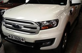 Sell White 2016 Ford Everest in Manila