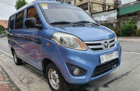 Selling Blue Foton Gratour 2018 in Quezon City