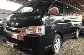 Sell Black 2018 Toyota Hiace at 6200 km