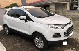 Sell White 2018 Ford Ecosport in Dasmariñas