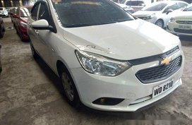 White Chevrolet Sail 2017 Manual Gasoline for sale