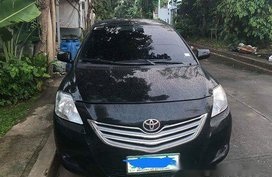 Black Toyota Vios 2010 Manual Gasoline for sale