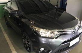 Grey Toyota Vios 2014 Sedan Automatic Gasoline for sale