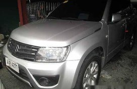 Silver Suzuki Grand Vitara 2014 Automatic Gasoline for sale