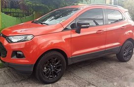 Sell Orange 2015 Ford Ecosport at 16000 km