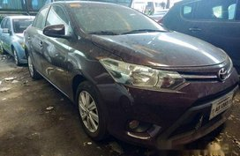 Red Toyota Vios 2018 for sale in Makati
