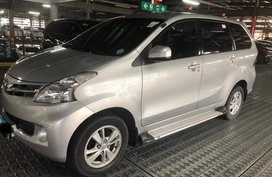 Silver Toyota Avanza 2012 Manual Gasoline for sale