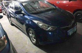 Selling Blue Hyundai Elantra 2012 at 50000 km