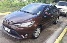 Sell Brown 2014 Toyota Vios Manual Gasoline at 61000 km