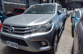 Selling Silver Toyota Hilux 2016 Automatic Diesel