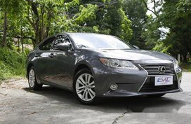 Grey Lexus Es 350 2015 for sale in Quezon City