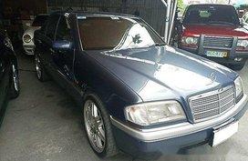 Selling Blue Mercedes-Benz C200 1995 Automatic Gasoline