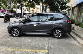 Grey Honda BR-V 2017 at 45000 km for sale