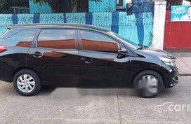 Selling Black Honda Mobilio 2017 in Marikina