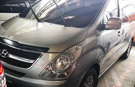 Grey Hyundai Starex 2013 Van for sale in Manila