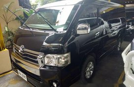 Black Toyota Hiace 2015 Automatic Diesel for sale