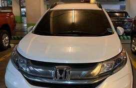 White Honda BR-V 2017 at 13000 km for sale