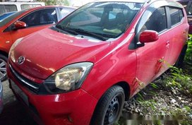 Selling Red Toyota Wigo 2016 Manual Gasoline at 7000 km