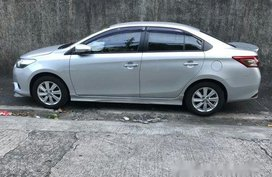 Silver Toyota Vios 2015 Automatic Gasoline for sale