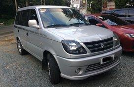 Silver Mitsubishi Adventure 2015 Manual Diesel for sale