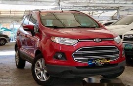 Red Ford Ecosport 2015 Automatic Gasoline for sale