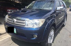 Sell Blue 2007 Toyota Fortuner in Rizal