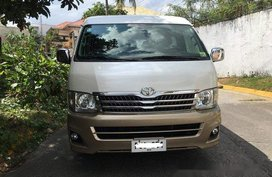 White Toyota Hiace 2011 Automatic Diesel for sale