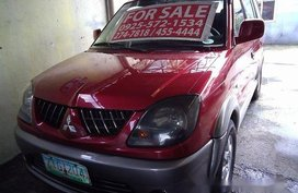 Red Mitsubishi Adventure 2008 at 85723 km for sale
