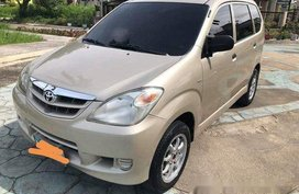 Selling Beige Toyota Avanza 2009 in Cebu
