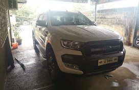 White Ford Ranger 2016 for sale in Batangas