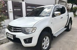 White Mitsubishi Strada 2015 for sale in Pasay